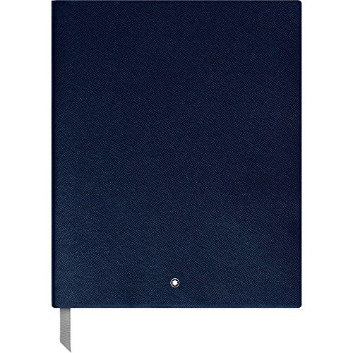 Montblanc 116953 - Taccuino #149 cancelleria di lusso Montblanc/Block notes, fogli a righe 210 x 260 mm, 272 pagine, copertina blu indaco