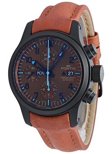 Fortis Hombre Reloj de pulsera b de 42Blue Horizon Cronógrafo Fecha Día de la semana Limited Edition automático 656.18.95l.38