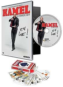 34;KAMEL LE MAGICIEN - EN LIVE (le DVD du spectacle + un jeu de 52 cartes) 34; [DVD + 1 jeu de 52 cartes]