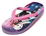 Mädchen Pantolette Sandale Schuhe Disney Frozen Die Eiskönigin Anna Elsa Gr.25-29 rosa pink rosé (25)