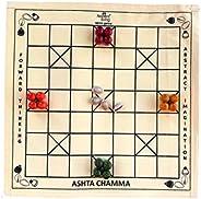 Ancient Living Ashta Chamma, Chowka Bara, Katta Mane, Taayam, 5 Houses, Kaangi Chaala, Kaana Dua, Indian Ludo,
