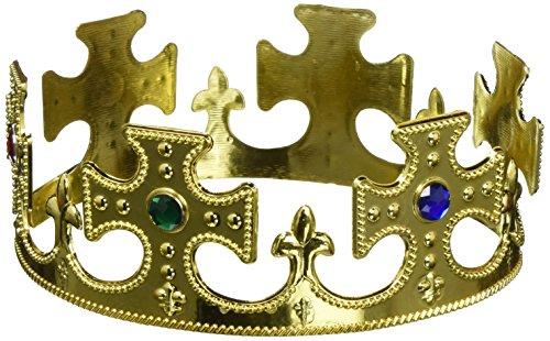 Forum Novelties 50612Gold Kunststoff Prince Krone