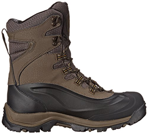 Columbia Mens Bugaboot Plus III Oh Wide Cold Weather Boot Mud/Squash