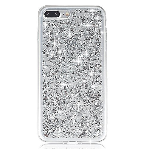 Sunroyal® Custodia per Apple iphone 7 plus (5.5 pollici) Brillantini