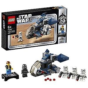 LEGO Star Wars TM Imperial Dropship Edizione 20° Anniversario Set Costruzioni da Collezionare, 5 Minifigures, 3…  LEGO