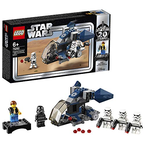 LEGO Star Wars 75262 - Imperial Dropship, 20 Jahre LEGO Star Wars, Bauset (Lego Wars Minifiguren-set Star)
