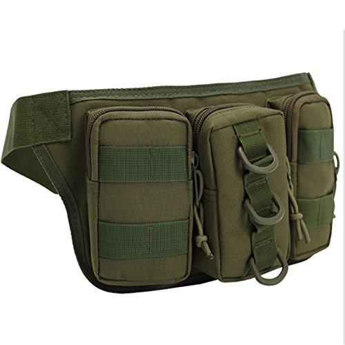 ChenBing Lauftasche mit elastischem Bund Multifunktionale Outdoor DREI Taschen Camo Beutel Taschen männlichen persönlichen Taschen Atmungsaktive Radtasche