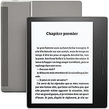 """Liseuse Kindle Oasis Reconditionné Certifié, Résistante à l'eau, Écran haute résolution 7"""" (17,7 cm) 300 ppp,  8 Go Wi-Fi"""