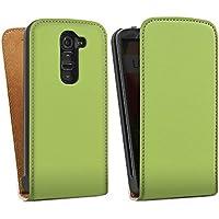 LG G2 mini Tasche Hülle Flip Case Spring frühling Green