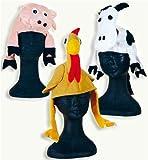 Tierhüte Tierhut Tier Hut Hahn Schwein Kuh sortiert verschiedene Modelle
