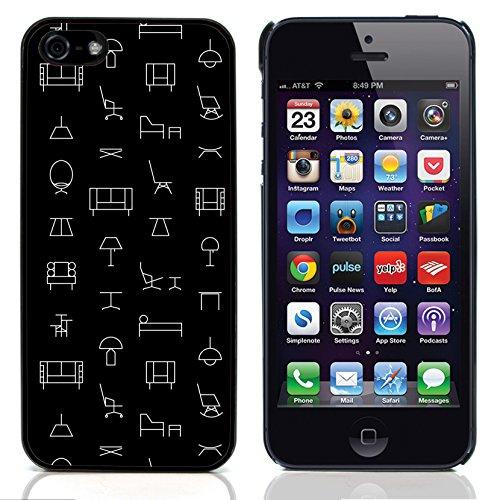 Graphic4You ORANGE CANVAS Muster Harte Hülle Case Tasche Schutzhülle für Apple iPhone 5 und 5S Design #20