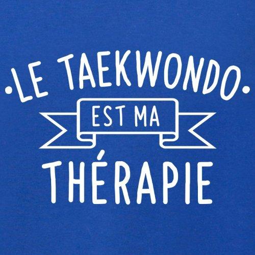 Le taekwondo est ma thérapie - Femme T-Shirt - 14 couleur Bleu Royal