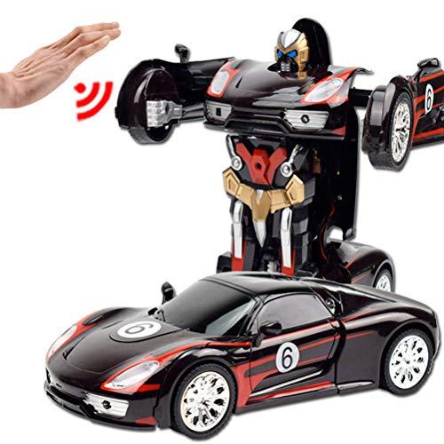 EisEyen RC Ferngesteuertes Transformers Roboter Fernbedienung Elektronische Kinder Auto Stunt Spielzeug (Kinder Elektronische Auto)