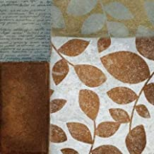 Hoja de letra II por, de papel de lija Kristin–Fine Art Print disponible sobre lienzo y papel, lona, SMALL (12 x 12 Inches )