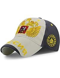 Fashion cap-Sombrero Hombres y Mujeres al Aire Libre Gorra de béisbol  Bordado Oro Sombrero b3d1d1a68f2