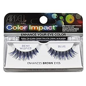 ARDELL Color Impact False Lashes - Blue Demi Wispies