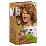 Clairol Textures Natural Instincts, 6/13Wildleder Hellbraun, Semi-permanenten Haar Farbe, 1Kit
