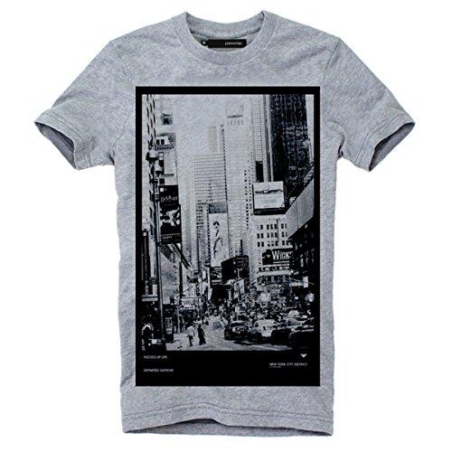 """DEPARTED Fashion Shirt """"3369-020"""" Grau"""