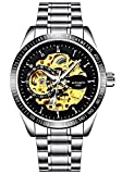 Spyn Automatic Mechanical Analogue Round Multi-Colour Dial Men's - Best Reviews Guide