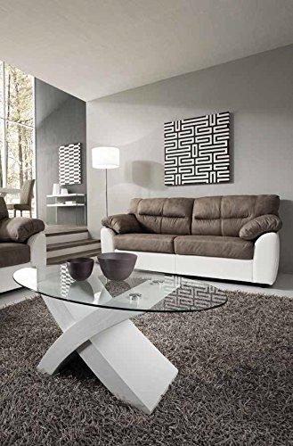 Tavolo ovale bianco design awesome tavolo tondo re trouv for Tavolino salotto moderno vetro design bianco ovale