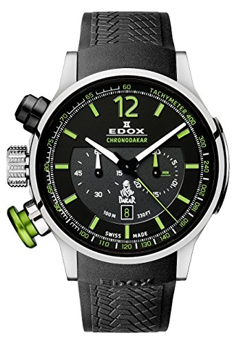 Montre Edox Chronodakar homme 10303-TIN-NV