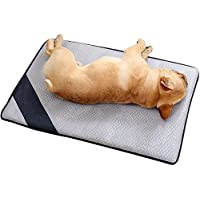 WYXIN Dogs & Cats Ice Silk Sleep Mats En Verano,L