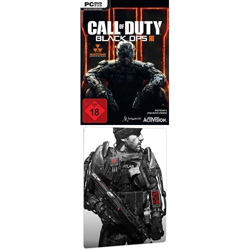 Call of Duty: Black Ops III - Day One Edition + Call of Duty: Advanced Warfare - Day Zero Edition inkl. Steelbook (exklusiv bei Amazon.de) - [PC]