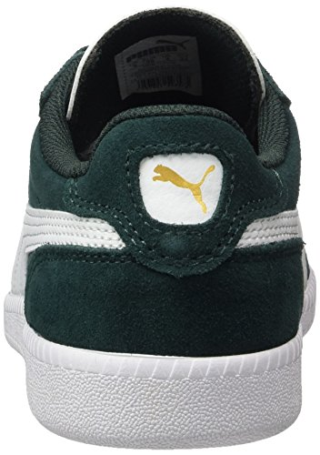 Puma Icra Trainer Sd, Sneakers Basses Mixte Adulte Vert (Green Gables-white)