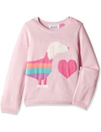The Children's Place Baby Girls' Knitwear (2076144481_Pink Blossom_2 Toddlers)