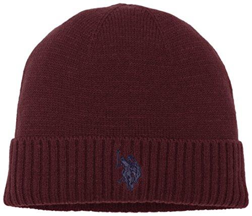 uspolo-assn-uspa-plain-hat-chapeau-fedora-homme-bordeaux-taille-unique