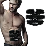 IMATE Smart Fitness Apparatus, EMS Abs Fit Training, Abdominal Muscle Toner Body Toning ABS Fit Weight Muscle Training, Waist Slimming Ab Belt Accelerates Weight Loss and Toning, EMS Gym Workout Machine, Unisex Fitness Training Gear, Home Fitness Training Gear Support For Men & Women