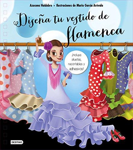 Diseña tu vestido de flamenca por Azucena Huidobro