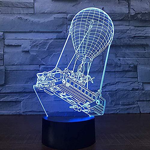 3D Heißluft Ballon Licht 7 Farben Stimmung Licht Touch Schalter USB Tisch Schreibtisch LED Licht Weihnachtsgeschenk Kinder Home Party Geburtstag Weihnachtsgeschenk