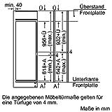 Neff KG636A3 Einbau-Kühl-Gefrierkombination / 158 cm / A+++ / Kühlteil: 164 Liter / Gefrierteil: 61 Liter / Flachscharnier -