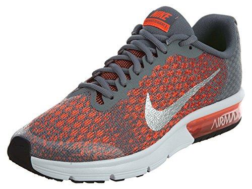 Nike nike air max sequent 2 (gs) - cool grey/metallic silver-max, Größe #:6Y (Nike Air Max Jungen, Größe 2)