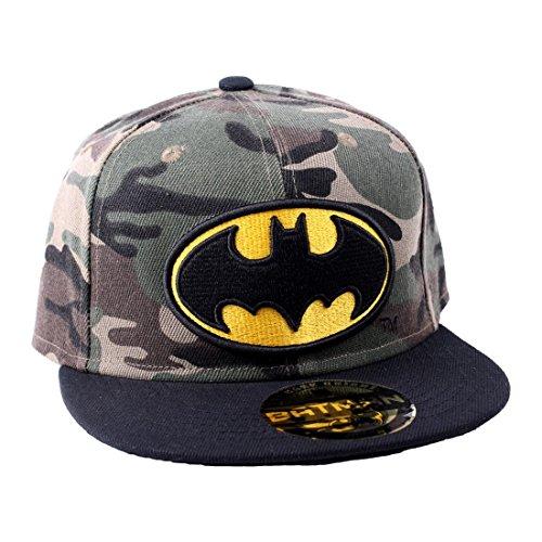 lat Baseball Cap - Camou Logo (One Size) (Lantern Superhelden)