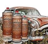 Rosteffektlack rostbraun 3x400ml Spraydose