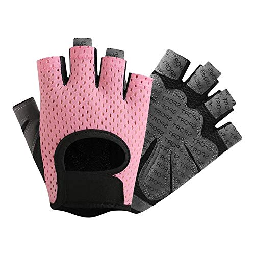 BHYDRY Hombres Mujeres Yoga Guantes Fitness Levantamiento