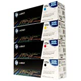 Hewlett Packard  -  CB540-3A cartridges Full Set Genuine