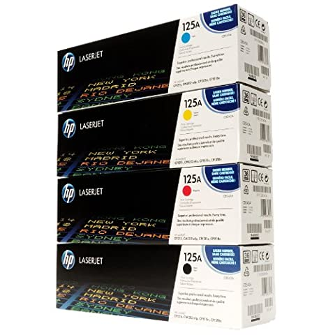 Hp Original Full Set includes Hp CB540/ CB541/ CB542/ CB543A Toner Cartridges