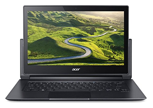 """Acer Aspire R 13 R7-372T-54LT 2.3GHz i5-6200U 13.3"""" 1920 x 1080Pixeles Pantalla táctil Negro, Gris - Ordenador portátil (Híbrido (2-en-1), Negro, Gris, Convertible (Ezel), i5-6200U, Intel Core i5-6xxx, Socket B2 (LGA 1356))"""