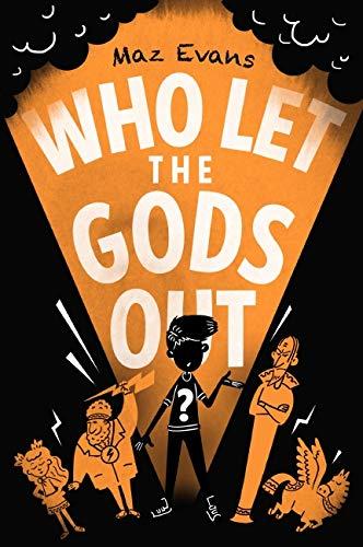 Buchseite und Rezensionen zu 'Who Let the Gods Out?' von Maz Evans