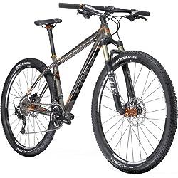 Trek MTB Superfly AL Elite - Bicicleta de montaña para hombre, talla L (173-182 cm), color (Dark Tint/Orange)