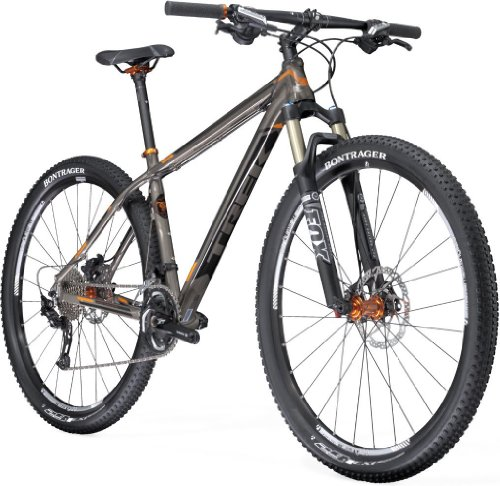 Trek, Mountainbike Uomo Superfly MTB, (Dark Tint/Orange), 19""