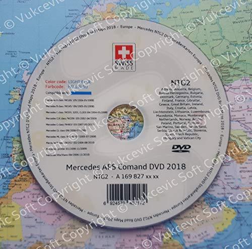 Mercedes NTG22018Navigation DVD Europa APS Comand