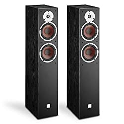 DALI SPEKTOR 6 6.5 Woofer 2-Way Floorstanding Speaker - Black Ash Vinyl (Each, Single unit)