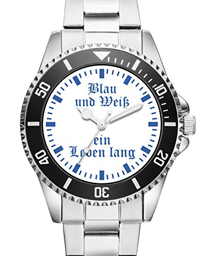 Gelsenkirchen Geschenk Fan Artikel Zubehör Fanartikel Uhr - 6028