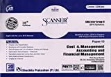 Solved Scanner CMA Inter Group-II (Syllabus - 2016) Paper-10 Cost & Management Accounting and Financial Management (Assessment Year 2019-20)