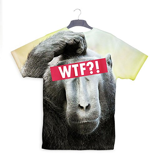 Monkey WTF T-shirt (Kostüm Business Monkey)