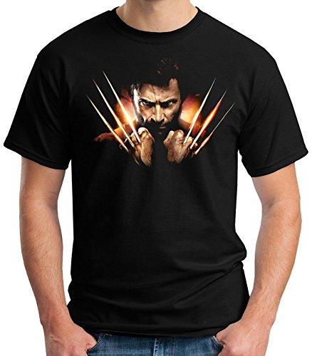 35mm - Camiseta Niño - Lobezno - T-Shirt, NEGRA, 3/4 años